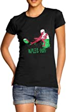 TWISTED ENVY Funny T Shirts for Mum Rugby Wales 2019