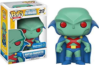 Funko Martian Manhunter (Walmart Exclusive) POP! Heroes x Justice League Unlimited Vinyl Figure + 1 Official DC Trading Card Bundle (14712)