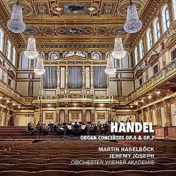 Handel: Organ Concertos Op. 4 & Op. 7