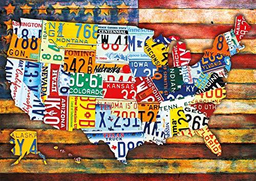 Buffalo Games 300pc Large Piece: Road Trip USA - 300 Piece Jigsaw Puzzle by Buffalo Games by Buffalo Games