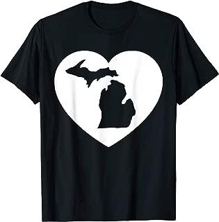 Best i heart michigan shirts Reviews