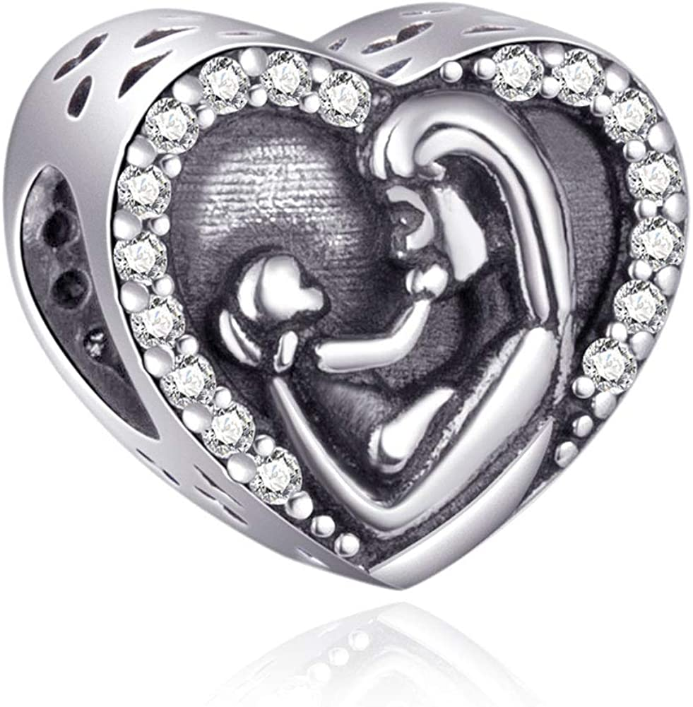 Mothers Day Super sale Series Charms 925 D Silver Japan Maker New Mother Daughter Sterling