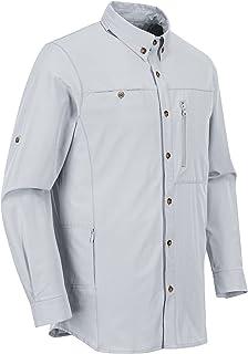 Outdoor Ventures Men's Long Sleeve Hiking Shirts UPF 50+ UV Protection Shirt for Travel, Golf, Fishing