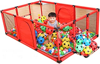 GWFVA Playpen Fence Kids Activity Center Safety Play Mats Mat For Kids Soft Foam Household Shatterproof Toys Indoor Playground Playroom Protection Playground