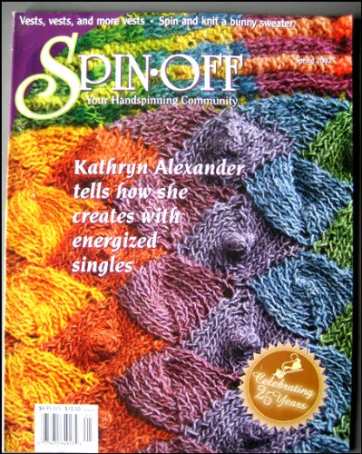 Spin Off Handspinning Magazine Spring 2002 Crock Pot Dyeing, Stansborough Gotland Sheep, Weaving with Singles, Vests