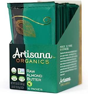 Artisana Organics Non GMO Raw Almond Butter, 10 Snack Pouches