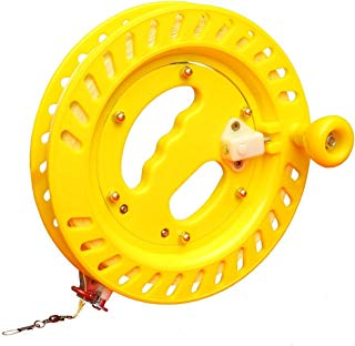 Hengda Kite Professional Outdoor Kite Line Winder Winding Reel Grip Wheel with flying Line String Flying Tools With Lock-Blue