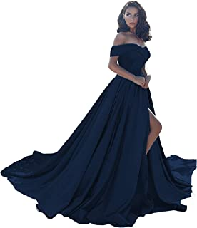 Prom Dress Long Split Off Ball Gowns For Women Wedding Evening Dress