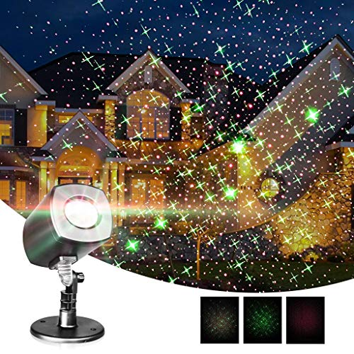 EAMBRITE Motion Christmas Projector Lights Waterproof for Garden Yard Landscape Patio Decorations