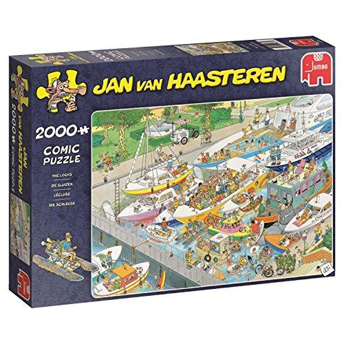 Jumbo Spiele Jan Van Haasteren - Die Schleuse - 2000 Teile Puzzle