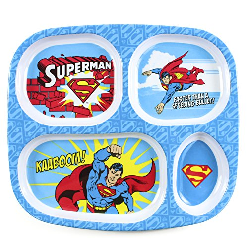 Bumkins DC Comics Teller aus Melamin, Superman