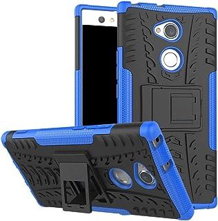Xperia XA2 Ultra Case, Ikwcase Heavy Duty Armor Tough Hybrid Shockproof Dual Layer Kickstand Protective Case Cover for Son...