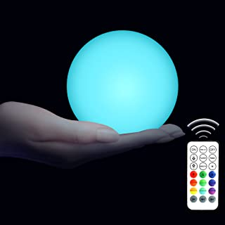 VIDOME Floating Pool Light, Led Pool Balls Remote Control, Light Up Pool Balls, Color Changing Glow Balls Light, Hot Tub L...