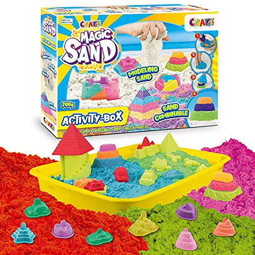 CRAZE Magic Sand Activity Box 700 de Arena