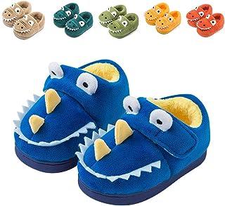 Fadezar Zapatillas De Estar por Casa para Niñas Niños Invierno Pantuflas Animales Antideslizantes Cálido Slippers Azul
