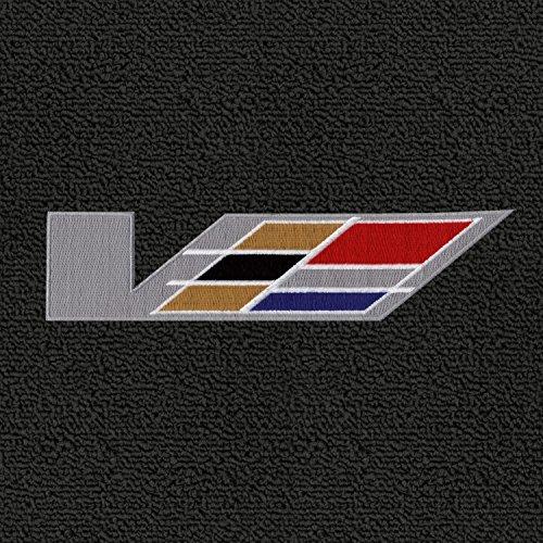 Lloyd Mats - Classic Loop Ebony 4PC Floor Mats for Cadillac CTS-V 2004-07 with V Series Flag Logo New Mexico
