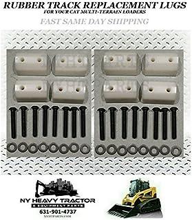 Caterpillar Asv Terex 277C 287C 297C 287C2 Rubber Track Lug Set Of 8 3258625 Caterpillar Cat