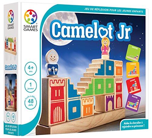 Smartgames–SG 031fr–Camelot Jr–Spiel der Reflexion und Beobachtung