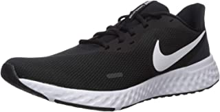 Nike Revolution 5 Men's Road Running Shoes,Black (Black/White/Anthracite),9 UK /44 EU