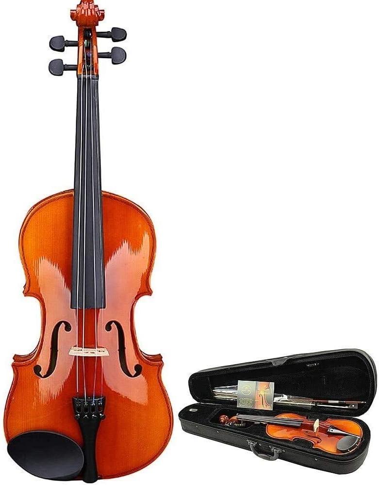 LIRONGXILY Acoustic Violin Fiddle Dallas Mall Max 65% OFF Mu Lightweight Handmade