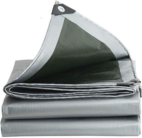 Bache De Prougeection Imperméable, Bache résistante imperméable UV Tout Usage de Couverture de Camping Tout Usage ZHANGQIANG (Couleur   A, Taille   3  5m)