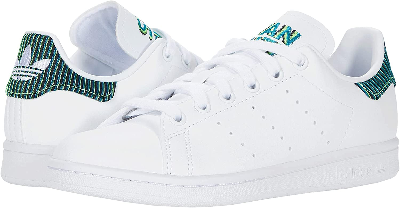 adidas Stan Smith (Big Kid) White/Clear Brown/True Orange 5 Big Kid M
