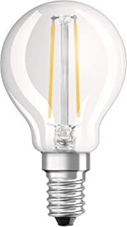 OSRAM LED Bulb Socket: E27, 5 Watt, 40-Watt-Replacement, Warm White 4058075815070