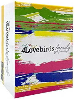 4Lovebirds Family Games - 100 Conversation Starters for Family and Friends - Fun Game Night for The Whole Family - Easy to...