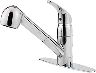 Pfister G13310CC Pfirst Series 1-Handle Pull-Out Kitchen Faucet in Polished Chrome, Water-Efficient Model
