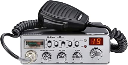 Uniden PC68LTX 40-Channel CB Radio with PA/CB Switch, RF Gain Control, Mic Gain Control, Analog S/RF Meter, Instant Channel 9, Automatic Noise Limiter, and Hi-Cut Switch