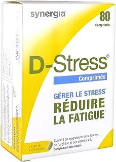 D-Stress ➠ Magnesio altamente asimilado. taurina. arginina y vitaminas B (B6. B5. B3 y B2) ➠ Origen Francia