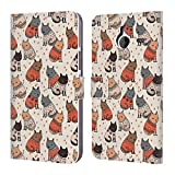 Official Andrea Lauren Design Cozy Cats Animals Leather