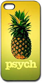 Happy Index Psych Pineapple iPhone 5s / 5 / Se Case Soft TPU Shell Full Protective Bumper Anti-Scratch Case Enhanced Grip Protective Defender Cover