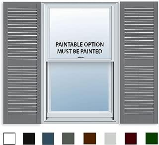 exterior shutter replacement