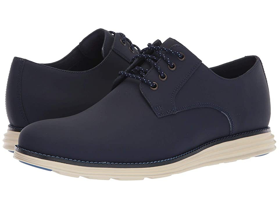 Cole Haan Original Grand Plain Toe (Blazer Blue Matte Leather) Men
