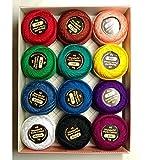 Wonderfil Eleganza #8 Perle Cotton Embroidery...