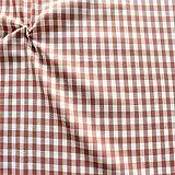 STOFFKONTOR 100% Baumwollstoff Stoff Züchen Vichy Karo