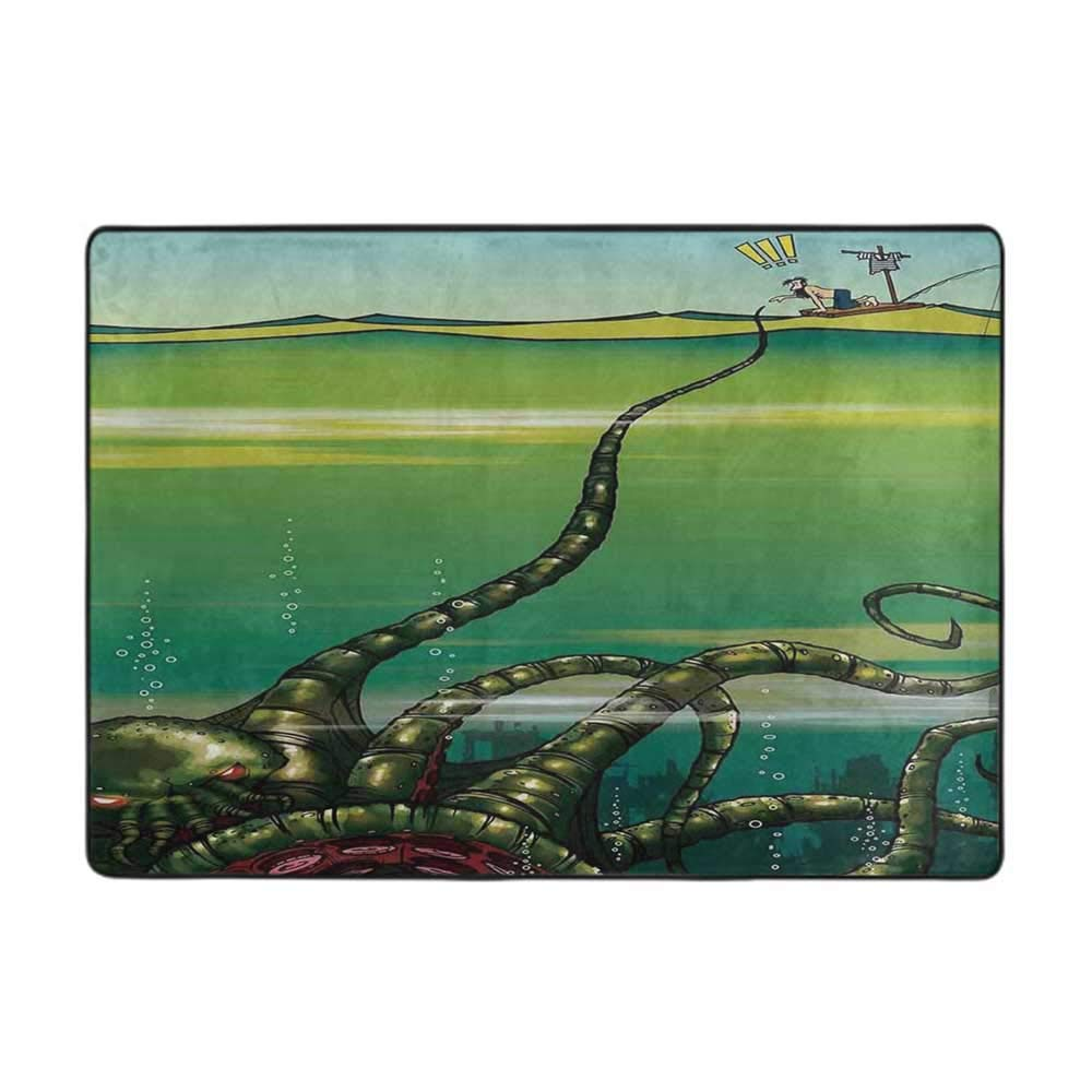 Soft Area Challenge the lowest price Children Baby Playmats Decor K Octopus Cartoon Monster Max 61% OFF
