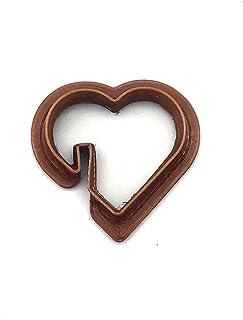 Emportes-Pièces Coeur à poser sur une tasse - Lavable en Lave-Vaisselle - Cookies, Savons, Céramique