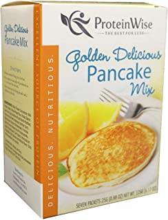 ProteinWise Healthy Diet Low Carb Low Calorie High Protein Pancakes (Golden Delicious)