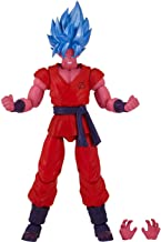 Bandai Super Saiyan Blue Kaioken x10 Goku: Dragonball Super x Dragon Star Action Figure Wave 6 + 1 Official Dragonball Trading Card Bundle [35991]