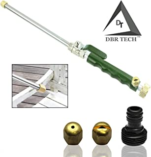 DBR Tech TM Hydro Jet High Pressure Power Washer, Pressure Washer Gun Whit Garden Hose End, Hydrojet Power Washer Nozzle (Forest)