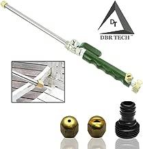DBR Tech TM Hydro Jet High Pressure Power Washer, Pressure Washer Gun Whit Garden Hose End, Hydrojet Power Washer Nozzle