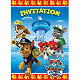 Unique Industries PAW Patrol Party Invitations, 8ct