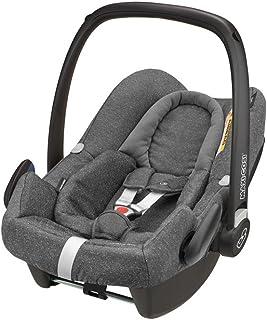 Maxi-Cosi Rock Babyschale, sicherer i-Size Kindersitz, Gruppe 0 0-13 kg, nutzbar ab der Geburt bis 12 Monate, sparkling grey