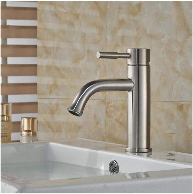 Wasserhahn Küche Bad Garten Waschtisch-Mischbatterie Modernes Brushed Nickel-Waschtischarmatur Badezimmer Ctzl2146