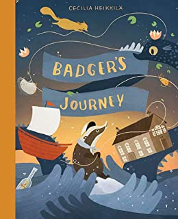 Badger's Journey (Illustrated Children's Book, Ages 3-8)