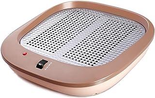 Radiador eléctrico MAHZONG Calentador de pies Oficina Dormitorio Hogar Calentador de Infrarrojos Calentador eléctrico de pies domésticos