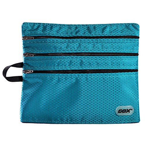 Travel Wallet Passport Holder Traveling Pouch - Store Cash Passport Credit Cards (8.7' x 7.3' x 0.8', Lake Blue)­
