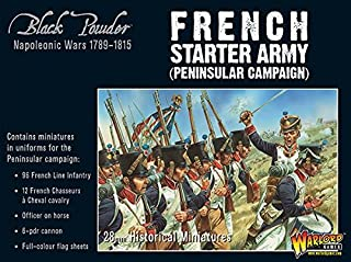 Black Powder Warlord Games, Napoleonic French Starter Army (Peninsular Campaign), Wargaming Miniatures
